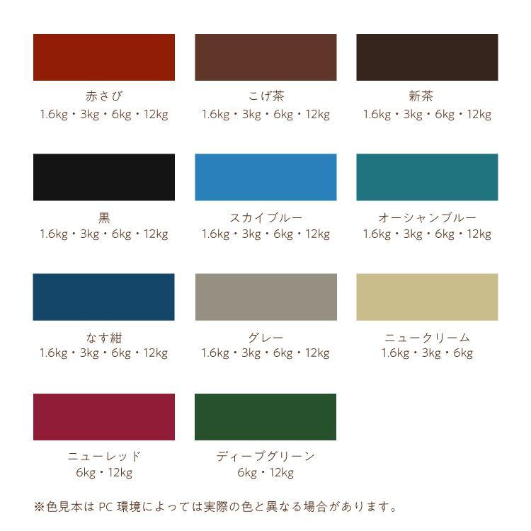 (送料無料)油性塗料・ペンキ|アサヒペン|油性高耐久アクリルトタン用α ニュークリーム(6kg)サビの上からそのまま塗れる。|dondon-p|04