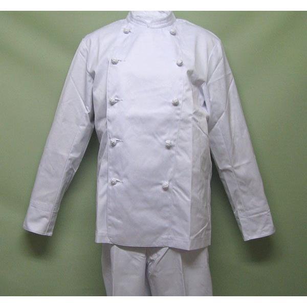 コックコート長袖 10枚セット as-110