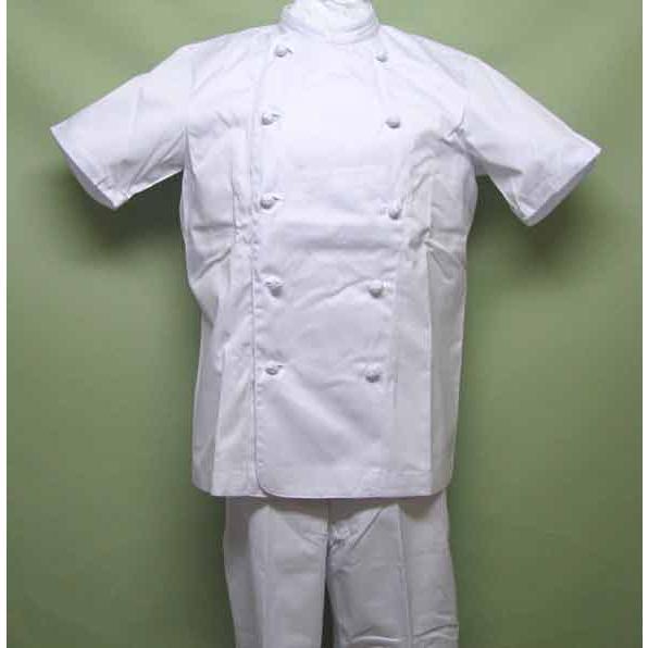 半袖ホワイトコックコート お得な5枚セット