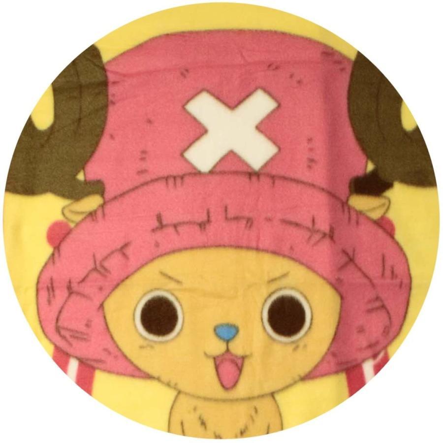 ワンピース フリース ひざ掛け チョッパー ピンク doreminchi 04