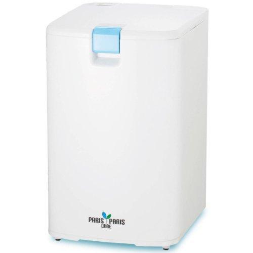島産業 家庭用屋内型生ごみ処理機(乾燥式) パリパリキューブ ブルー PPC-01-BL