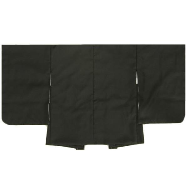 七五三 男児着物 男の子 羽織単品 黒無地 3歳用 日本製