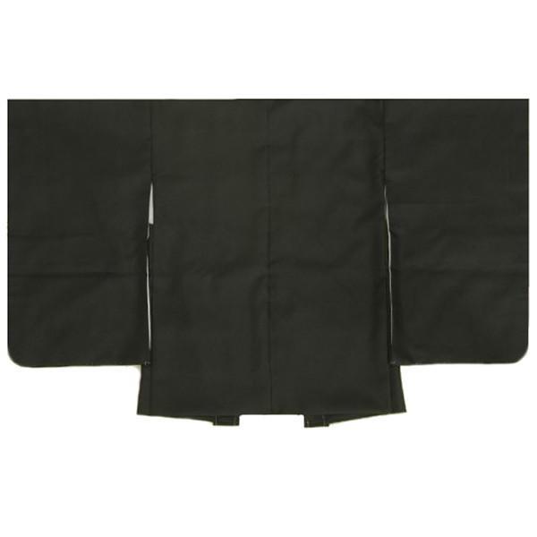 七五三 男児着物 男の子 羽織単品 黒無地 5歳用 日本製