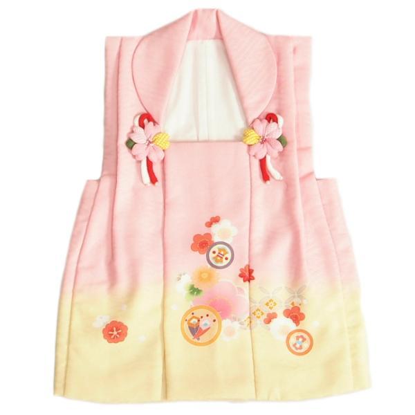 七五三 着物 被布単品 3歳 女の子 ベージュ フリルタイプ パール飾り ひな祭り お正月