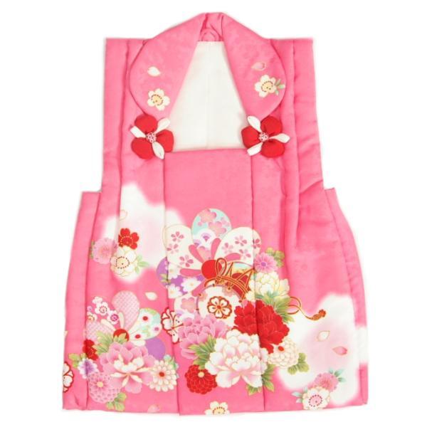 被布 着物 三歳 ピンク 桜 蘭 七五三 ひな祭り お正月 桜地紋生地