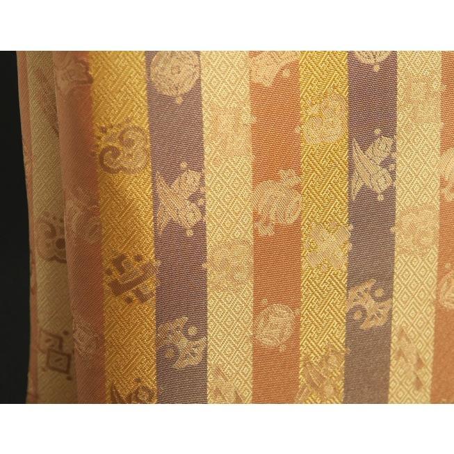 金襴バッグ 和洋兼用 礼装及びカジュアルスタイルのサブバッグ 縦型 宝尽くし文様 手提げタイプ 日本製|doresukimono-kyoubi|02
