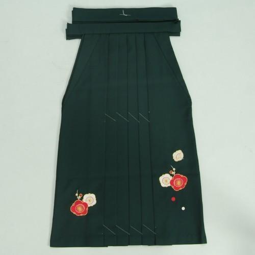 小学生 保育園 卒業袴 卒園袴 花ひめブランド ジュニアサイズ 緑刺繍袴 SS・S・M・Lサイズ
