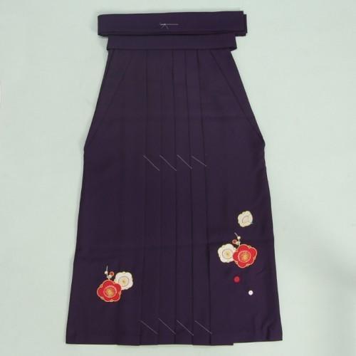 小学生 保育園 卒業袴 卒園袴 花ひめブランド ジュニアサイズ 紫刺繍袴 SS・S・M・Lサイズ