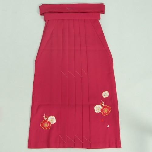 小学生 保育園 卒業袴 卒園袴 花ひめブランド ジュニアサイズ 濃ピンク刺繍袴 SS・S・M・Lサイズ