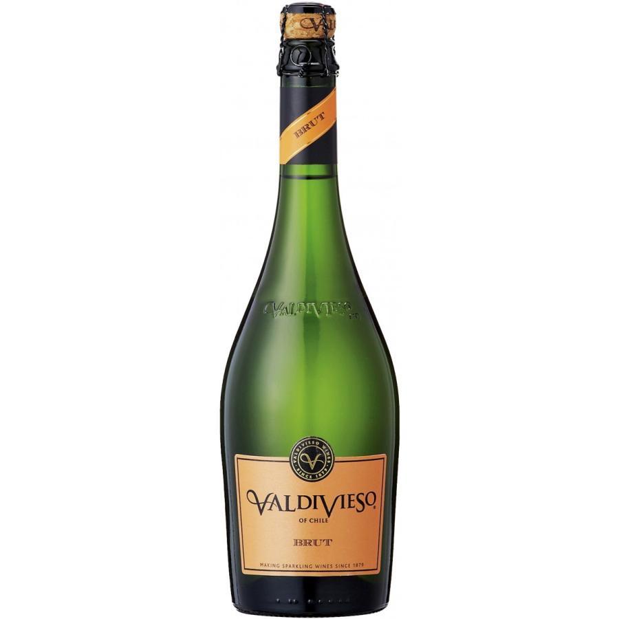 スパークリングワイン チリ バルディビエソ ブリュット 750ml sparkling wine 12本まで1梱包 dorinkuya2