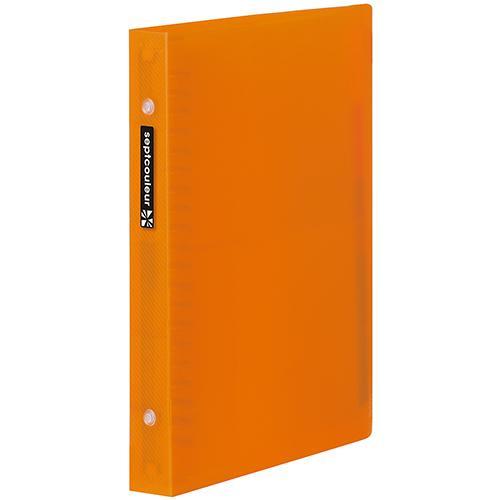 マルマン メタルバインダー セプトクルール A5  20穴 オレンジ(オレンジ) dotkae-ru02