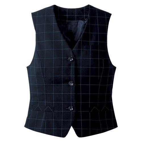 カンセン オフィスウェア ベスト サイズ:13号 着丈52cm,肩幅36cm,胸囲95cm(ネイビー) どっとカエール - 通販 - PayPayモール