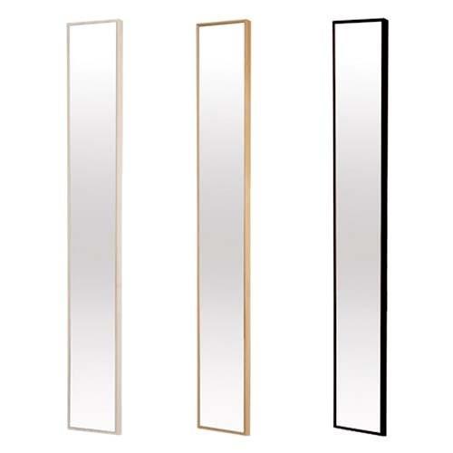 ミラー かがみ 鏡 壁掛け スリム コンパクト 全身 姿見 北欧 スタンドミラー
