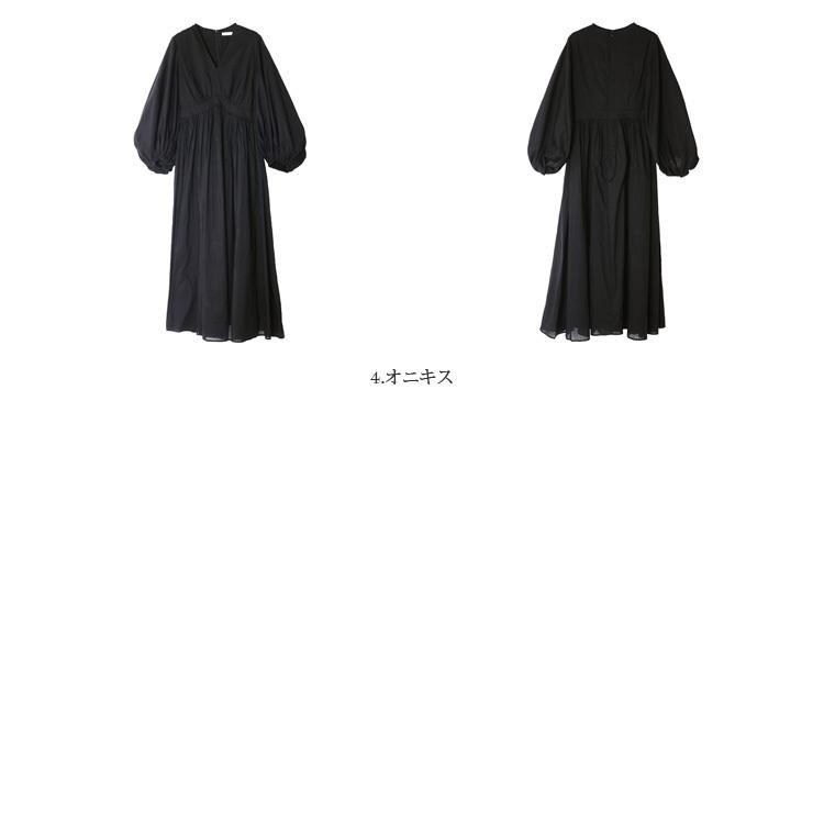 【21AWコレクション】MARIHA〔マリハ〕3211215003少女の祈りのドレス/Vネックバルーンスリーブギャザーロングワンピース【P2】|douceharmonie-ndc|02