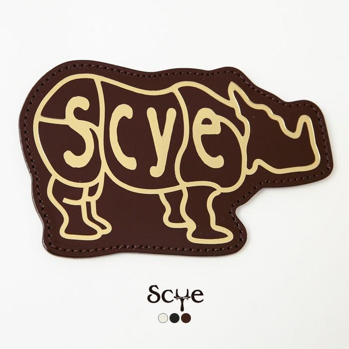 Scye〔サイ〕3319-33321Patent Leather Rhino Coin Purse/エンボスロゴパテントレザーコインパース【P2】|douceharmonie-ndc