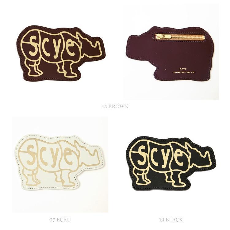 Scye〔サイ〕3319-33321Patent Leather Rhino Coin Purse/エンボスロゴパテントレザーコインパース【P2】|douceharmonie-ndc|02