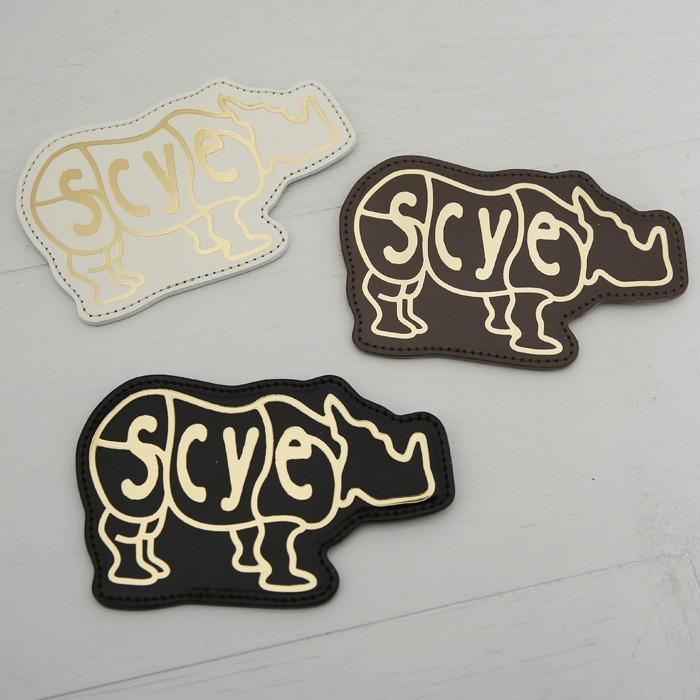 Scye〔サイ〕3319-33321Patent Leather Rhino Coin Purse/エンボスロゴパテントレザーコインパース【P2】|douceharmonie-ndc|05