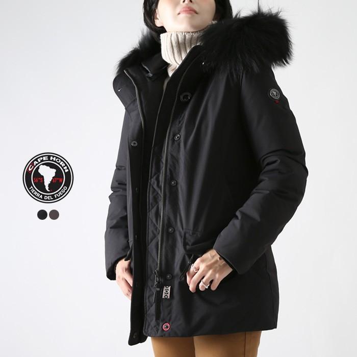 激安な **【ファイナルセール】【19AWコレクション】CAPE HORN〔ケープホーン〕72501NEVADO MURM/ラクーンファーフーデッドダウンコート, ペイント ショップ:37c74cf1 --- fresh-beauty.com.au