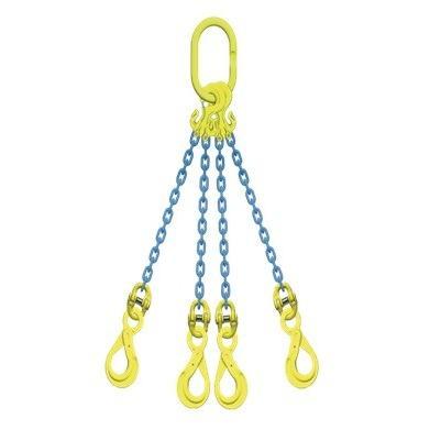 マーテック チェーンスリング 使用荷重5.1ton 4本吊りセット TG4-BK8