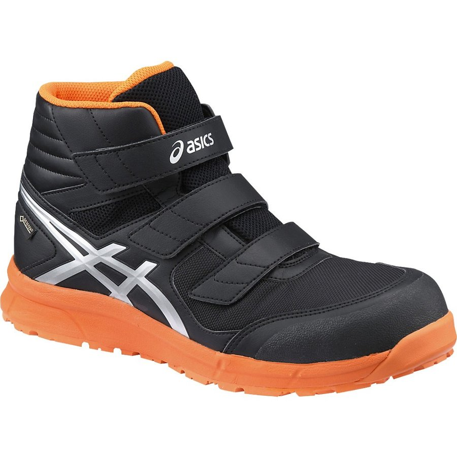アシックス 安全靴 ウィンジョブ CP601 G-TX <FCP601-9093> <FCP601-9093> <FCP601-9093> 25.5cm ブラック×シルバー 0b9