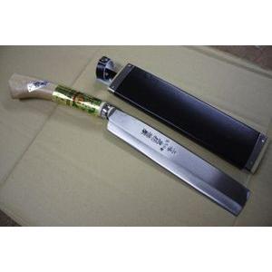 新品 240mm 別打 土佐産 安来青紙鋼 忠親製 鞘付鉈
