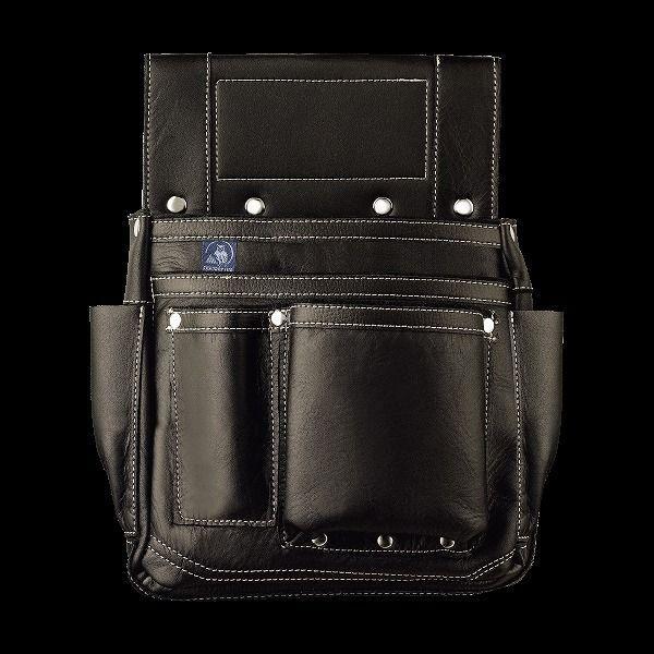 ふくろ倶楽部 朱雀 四型 黒 SZ-884K 釘袋 釘袋 釘袋 腰袋 cde
