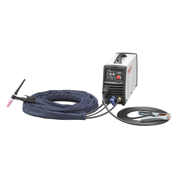 【直送品】 マイト工業 DC インバーターTIG溶接機 MT-200FDP (入力単相100V/200V)【法人向け、個人宅配送不可】