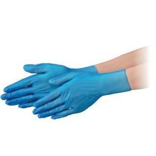【ポイント5倍】 エブノ PVC手袋 NEXT PF L 半透明 2000枚(100枚X20箱) プラスチックグローブNEXT
