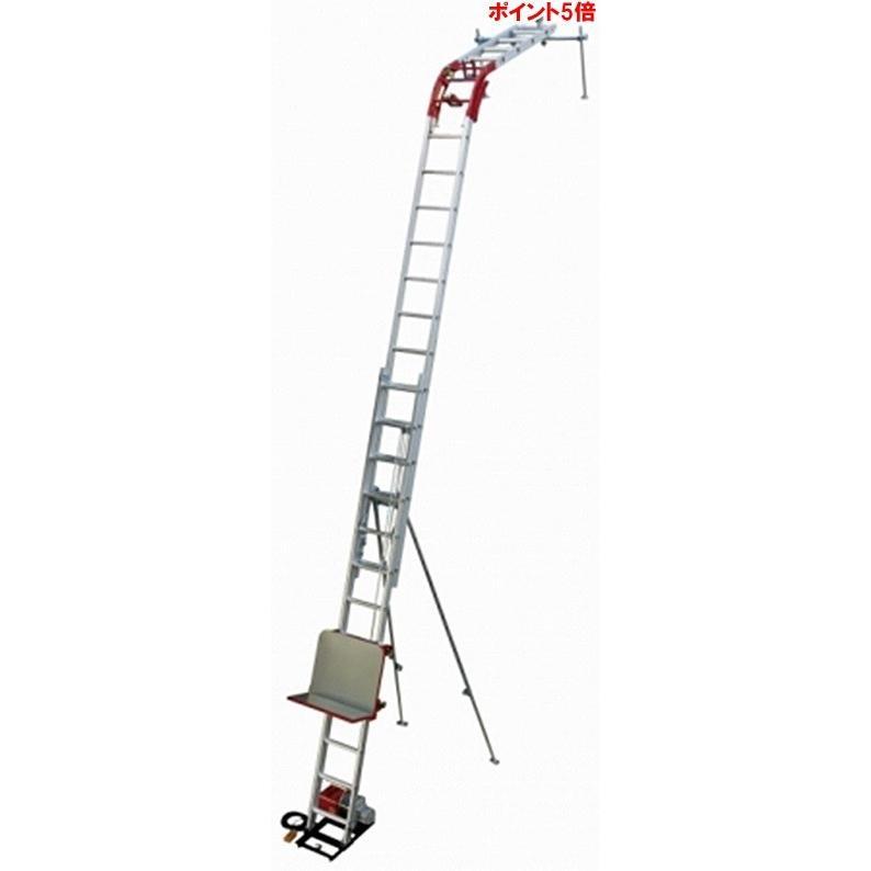 【ポイント5倍】 【直送品】 PiCa (ピカ) 二連式万能荷揚げ機 スライドタワー GL3LA-W2000V