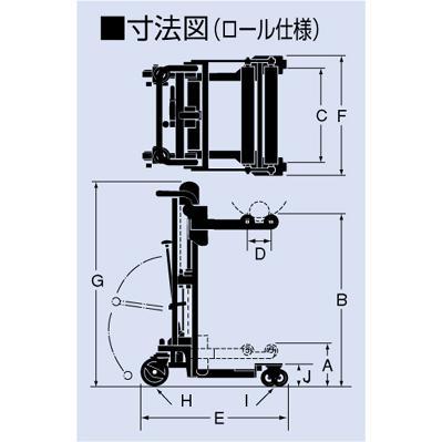 【ポイント5倍】 【直送品】 をくだ屋技研 (OPK) ロール仕様サントカー SC-2-8SR-1