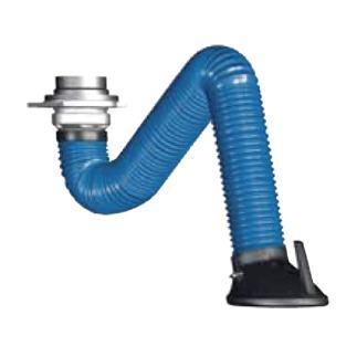 【ポイント5倍】 【直送品】 ヤマダ (YAMADA) アーム型溶接ヒューム・微細粉塵回収装置 EXアーム EX-2000 (R554235)