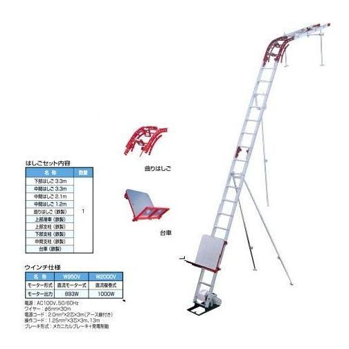 【直送品】 PiCa (ピカ) 荷揚げ機 GL6S-W2000V 【送料別】