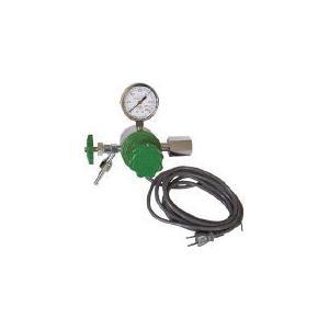 ヒーター付圧力調整器 YR-507V YR-507V (434-6734) 《ガス調整器》