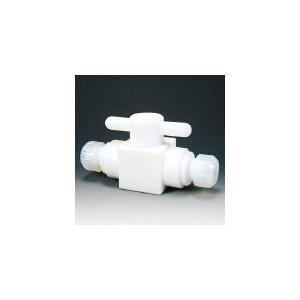 【代引不可】 フロンケミカル コンパクト二方ボールバルブ接続型8φバイトン NR1300-02 (735-2808) 《ボールバルブ》 【メーカー直送品】