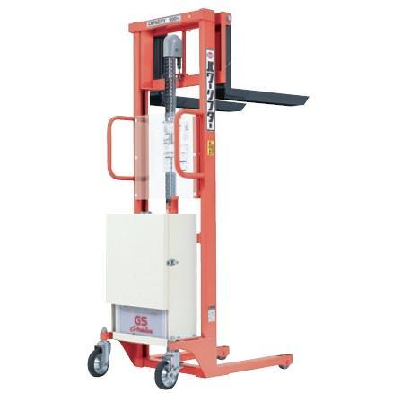 【直送品】 をくだ屋技研 (OPK) バッテリー式パワーリフター (エコノミータイプ) PL-D500-15S オレンジ色
