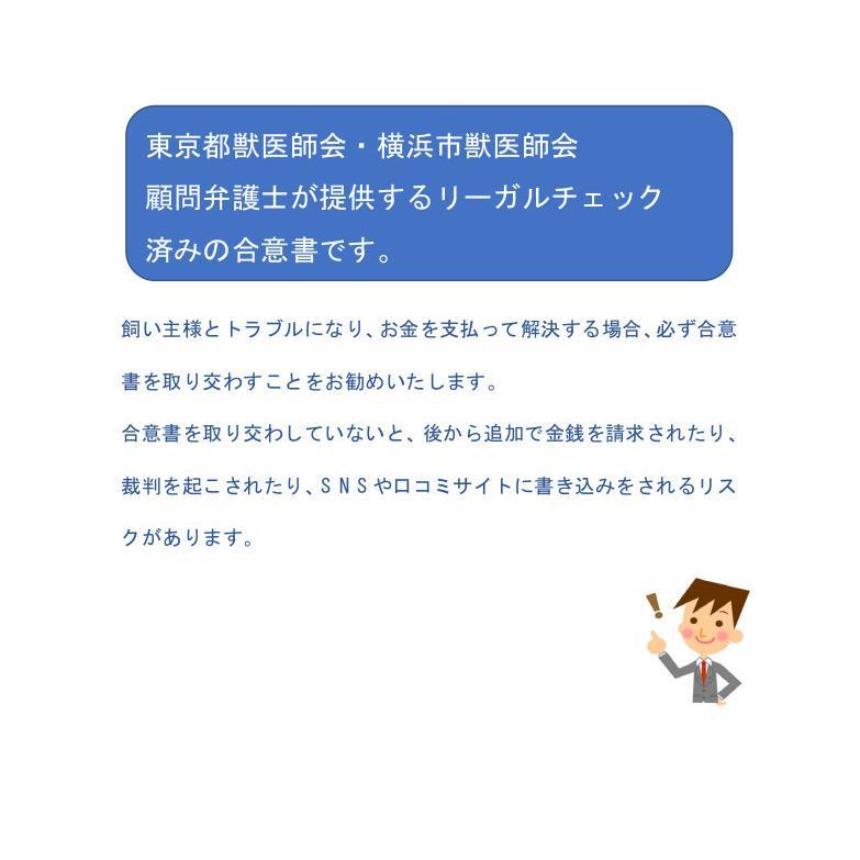 獣医師と飼い主のための合意書 douisyo 02