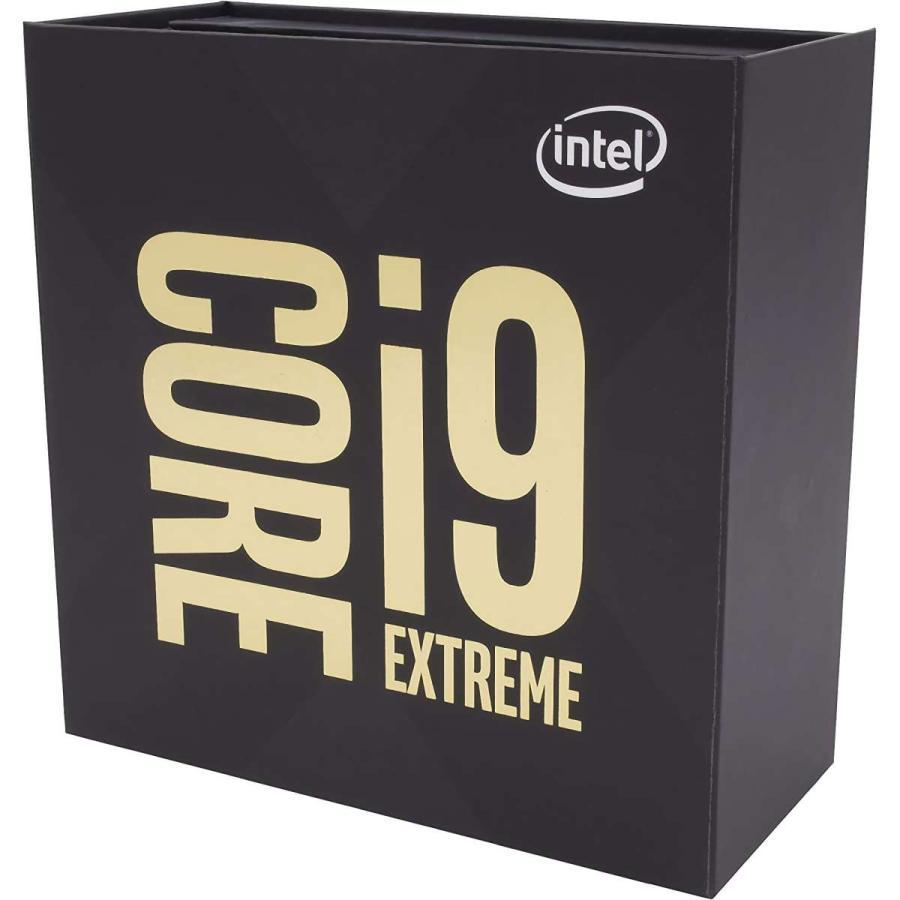 インテル intel CORE i9-9980XE EXTREME EDITION BOX BX80673I99980X LGA2066 / 18コア 36スレッド / 3.0GHz ( TurboBoost 4.4GHz / TurboBoostMAX3.0 4.5GHz )