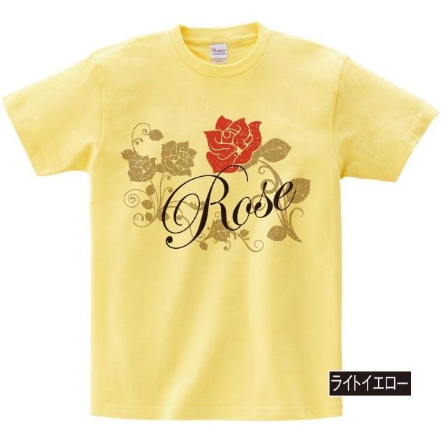 イラストTシャツ Rose バラ メンズ S〜XXXLサイズ 大きいサイズ ビッグ BIG dpop