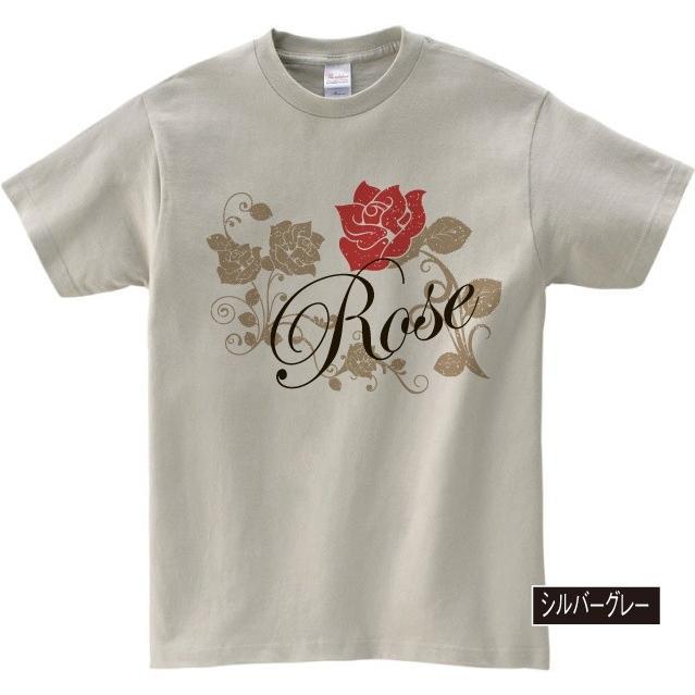 イラストTシャツ Rose バラ メンズ S〜XXXLサイズ 大きいサイズ ビッグ BIG dpop 04