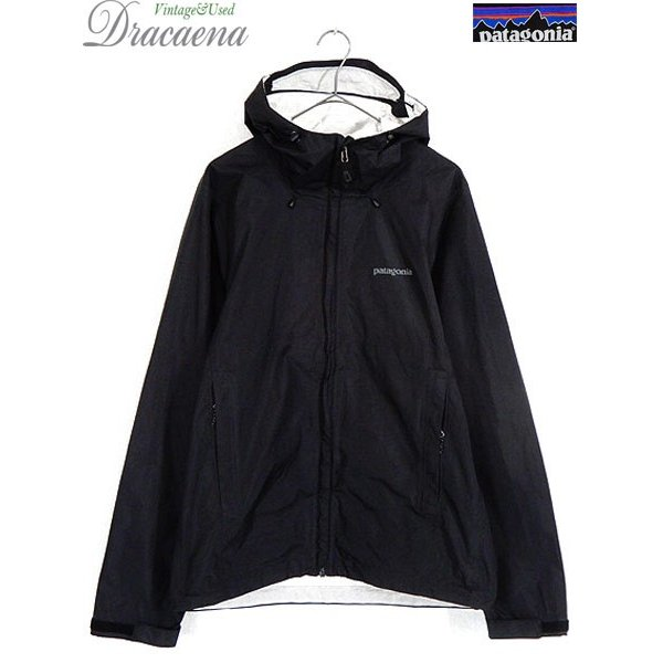古着 ジャケット 15s Patagonia パタゴニア 「TORRENT SHELL Jacket」 トレント シェル ジャケット BLK M 古着