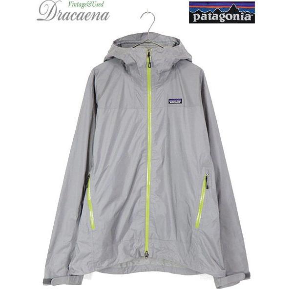 古着 ジャケット 10s Patagonia 「Rain Shadow」 蛍光 止水ジップ レイン シャドー ジャケット FEA L 古着