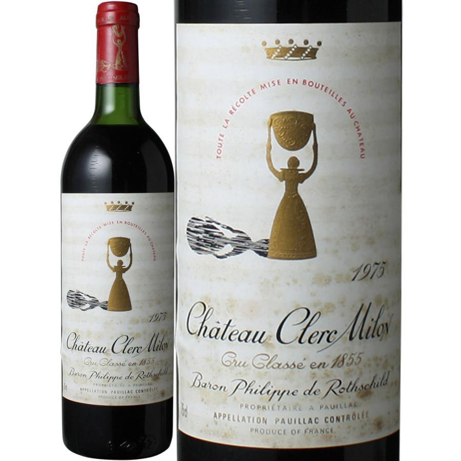 ワイン ボルドー シャトー・クレール・ミロン 1975 赤