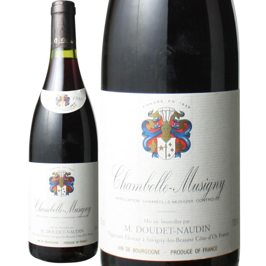 ワイン ブルゴーニュ シャンボール・ミュジニー 1980 ドゥデ・ノーダン 赤