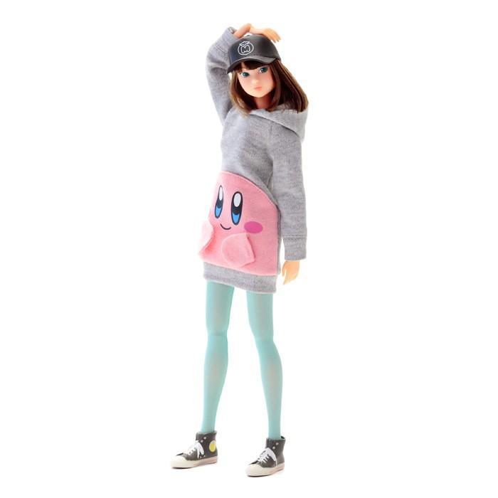 あすつく momoko DOLL モモコドール カービィパーカーセット 218554 本体&洋服 衣装 人形 1/6スケール ファッションドール セキグチ