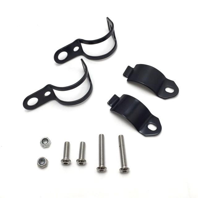ウインカークランプ ウインカーステー ブラック ポジション 2個 セット 汎用 直径約30mm〜約40mm|dream-japan|02