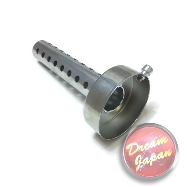 バイク マフラー サイレンサー インナー バッフル 消音 直径60mm 長さ140mm汎用品 マグナ モンキー Jazz