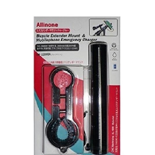 バイク 自転車用 スマホ タブレット充電器  バッテリー充電 エクステンド チャージャー 2600mAh バッテリー UW-2200EA ナビ|dream-japan|03