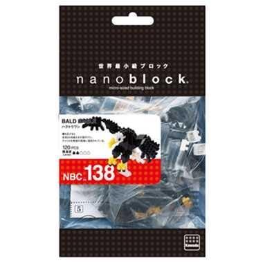 ナノブロック ハクトウワシ nanoblock おもちゃ 知育玩具|dream-realize
