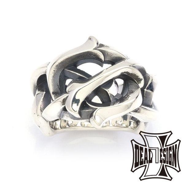 本物保証!  メーカー取り寄せ品 レイジングチェーンリング シルバーリング 指輪 指輪 DESIGN DEAL DESIGN ディールデザイン, ペダル、エアロのダックスガーデン:dc0d0ce3 --- bit4mation.de