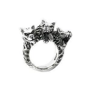 有名な高級ブランド メーカー取り寄せ品 ケルベロスリング ジェミナ ジェミナ メンズリング Gemina メンズリング 指輪 指輪, ブランドピース:88f39168 --- bit4mation.de